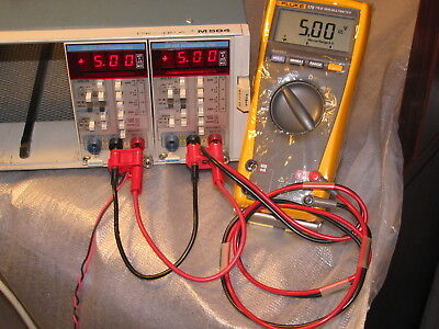 Tektronix Tm504 Plug In With 1 One Tested Dm502a Dmm