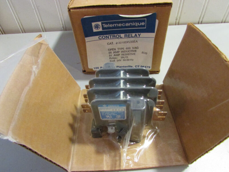 Gould Telemecanique Definite Purpose Contactor 2210DPJ30EA Amp: 25