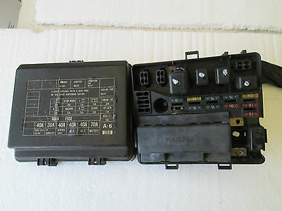 honda prelude si under hood fuse box fuses and cover item information