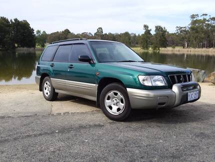 2000 Subaru Forester Wagon City North Canberra Preview
