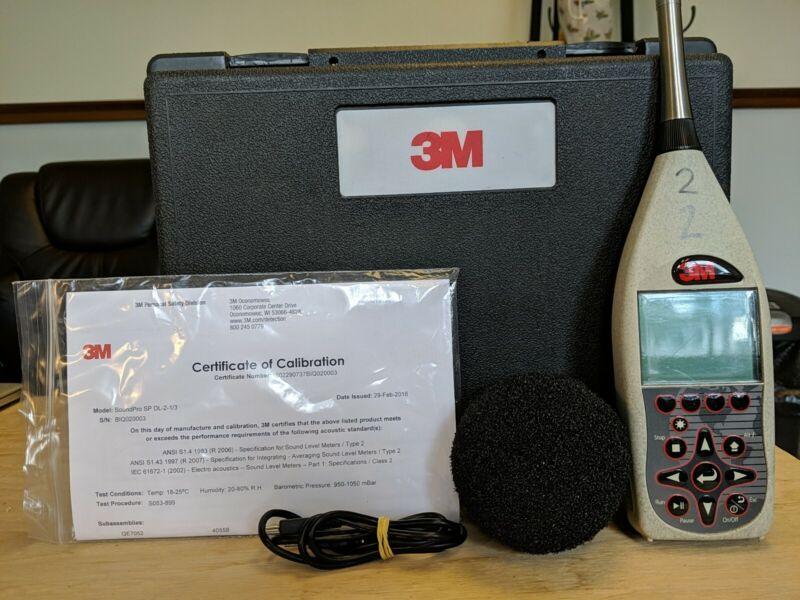 3M SoundPro SP DL-2-/13 Sound Level Meter