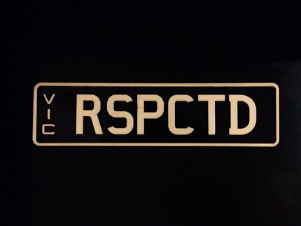 Number Plates-RESPECTED [RSPCTD] Melbourne CBD Melbourne City Preview