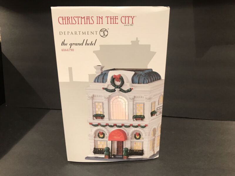 Department 56 Christmas in the City. The Grand Hotel! #4044790 Brand New! Rare