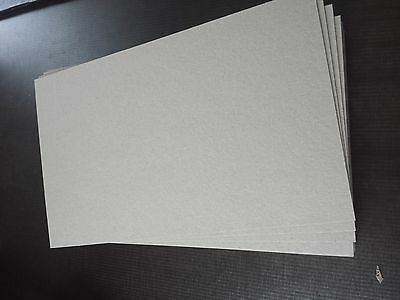 Buchbinder Pappe 1,5 mm  für  A4 10 St.grau/grau 10 St. 21,5 x 30,2 cm