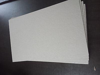Buchbinder Pappe 1,5 mm  für  A4 10 St.grau/grau 10 St.