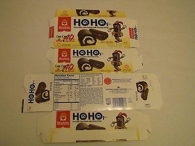 Hostess  Interstate Brands  Ho Hos 40Th Anniversary Empty Box