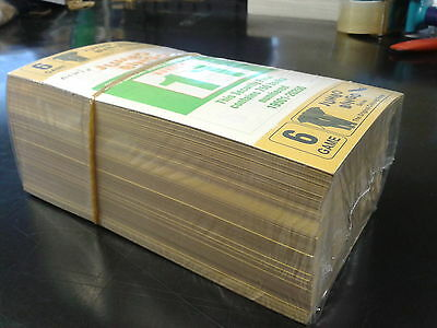 (2 packs) 1500 BINGO BOOKS TICKETS 6 page 6 to view 250 strips SAME DAY POSTING