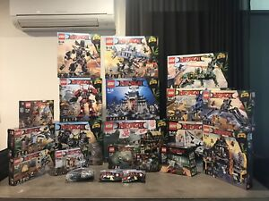 Lego Ninjago movie collection Mitcham Whitehorse Area Preview