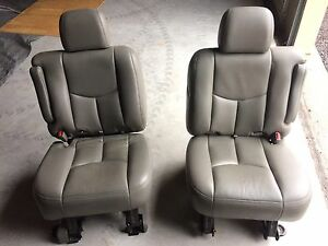 GMC Chevrolet middle row captain chairs  Kingston Kingston Area image 1