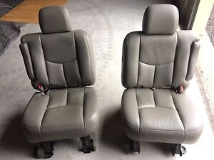 GMC Chevrolet middle row captain chairs