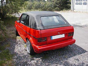 vw golf 1 cabrio capote cabriolet pvc noir neuve ebay. Black Bedroom Furniture Sets. Home Design Ideas