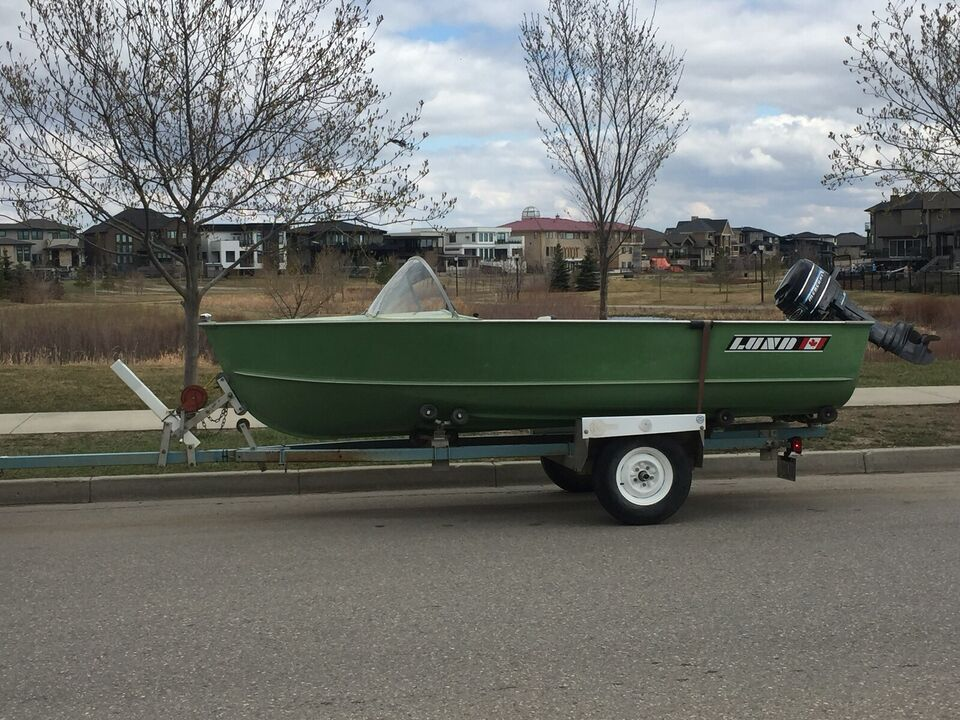 Aluminum Fishing Boats For Sale >> 14 Lund Aluminum Fishing Boat For Sale