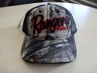 RANGER BOATS TOURNAMENT FLAT BILL CAP  R16A-H204  BASS FISHING HATS