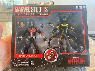 Marvel Studios Legends ANT-MAN & YELLOWJACKET First Ten Years MIB AVENGERS *LOOK