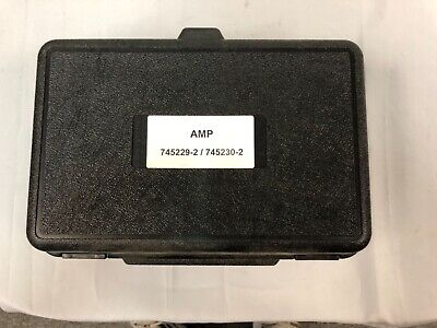 Amp Tyco Crimp Applicator For Crimping 745229-2 745230-2 Terminals Included
