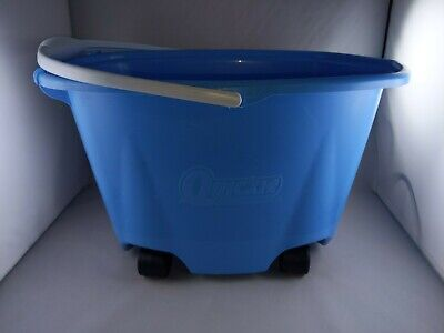 Quickie Ez-glide Multi-purpose 5-gallon Mop Bucket On Wheels Marks And Scratches