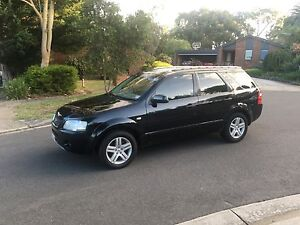 2005 ford territory ghia 12 months rego and RWC Boronia Knox Area Preview