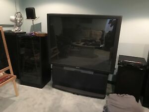 Sony rear projection TV
