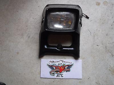 1985 Kawasaki 110 Front Head Light Assembly