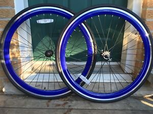 700c Single Speed/Fixed Gear Wheelset w/ Flip Flop hub