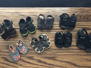 Shoes - size 0-6 months to size 8