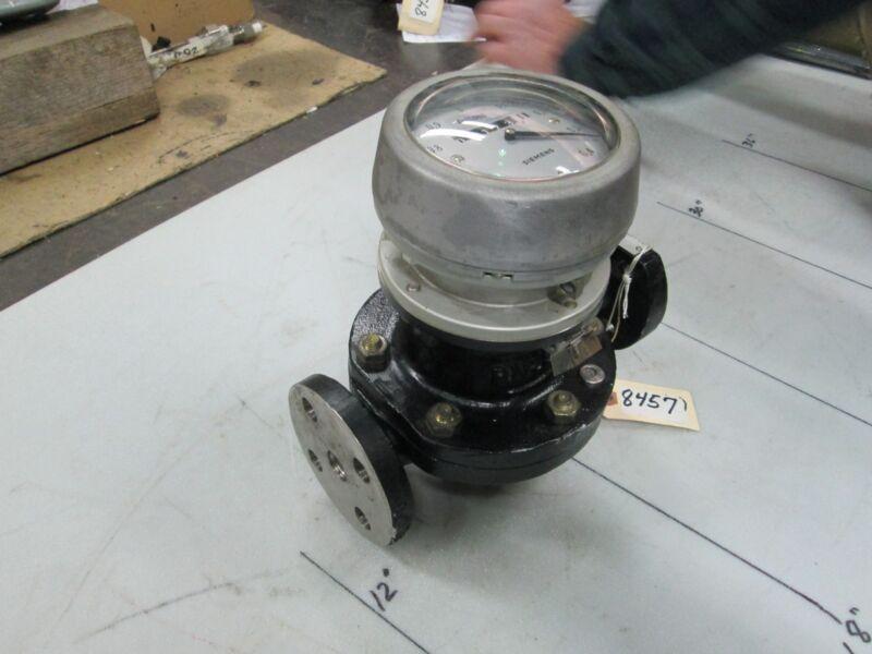 """Siemens S/S Liquid Meter #8905H54349 D/N 15 P/N 25 1/2"""" 125# Flange #C74401A15"""