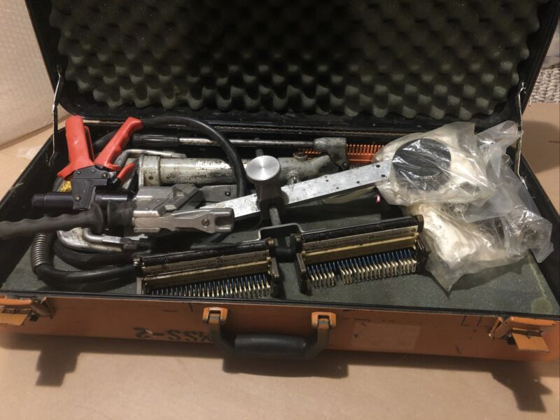 3M MS2 modular splicing system with tool box hydrolic kit and manual kit