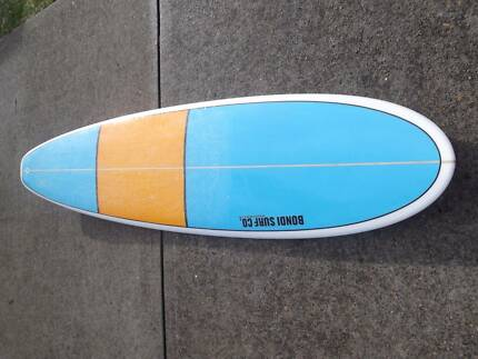7'6 mini mal surfboard