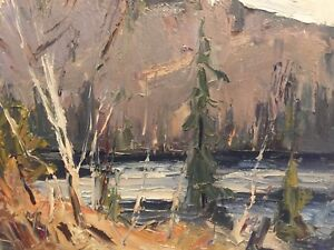 Canadian listed oil painting Bruno cote