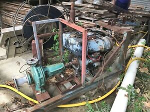 Lombardini stationary motor and southern cross pump