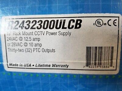 ALTRONIX R2432300ULCB Power Supply 16PTC 24Vac @ 12.5A Rack- NEW  ()