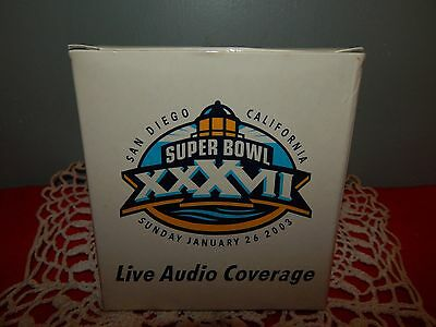 Super Bowl Xxxvii San Diego Live Audio Coverage  Raido