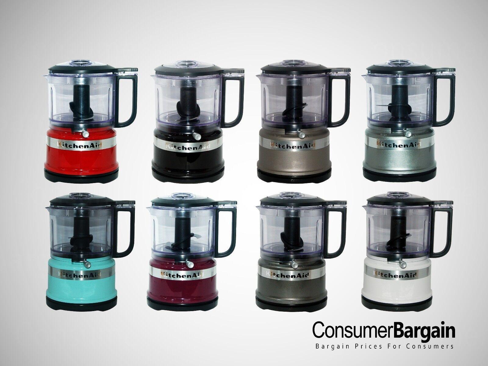 KitchenAid KFC3516 3.5 Cup Mini Food Processor Guaranteed Refurbished BPA-Free!!