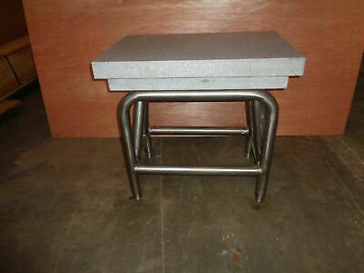 Granite Surface Plate Machining By Herman Stone Company 24x36x6 Wstand