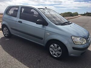 2002 Hyundai Getz, 3 door, Manual Seaford Meadows Morphett Vale Area Preview