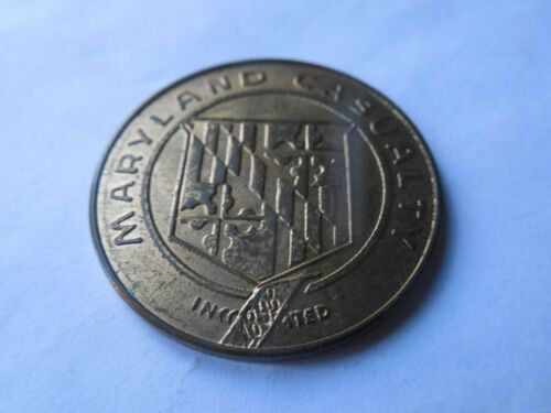 American General Medal Coin Token Maryland Casualty Insurance Medallion