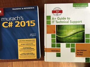 NBCC First year IT: Programmer Analyst Books