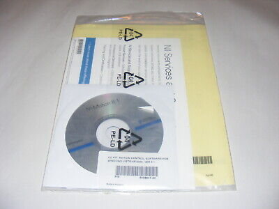 National Instruments Motion Control Software For Windows Vista Xp 2000 Ver 8.1