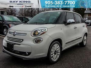 2015 Fiat 500L LOUNGE, SUNROOF, TINT, LEATHER HEATED SEATS, BACK