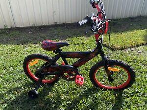 "Boys 16"" Spider-Man BMX Bike (suit 5yrs to 8yrs)"
