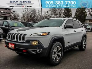 2014 Jeep Cherokee 4X4, GPS, BACK UP CAM, SUNROOF, LEATHER