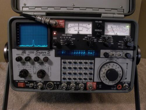 IFR 1200 Super S with options 1,4,10,12*,&14