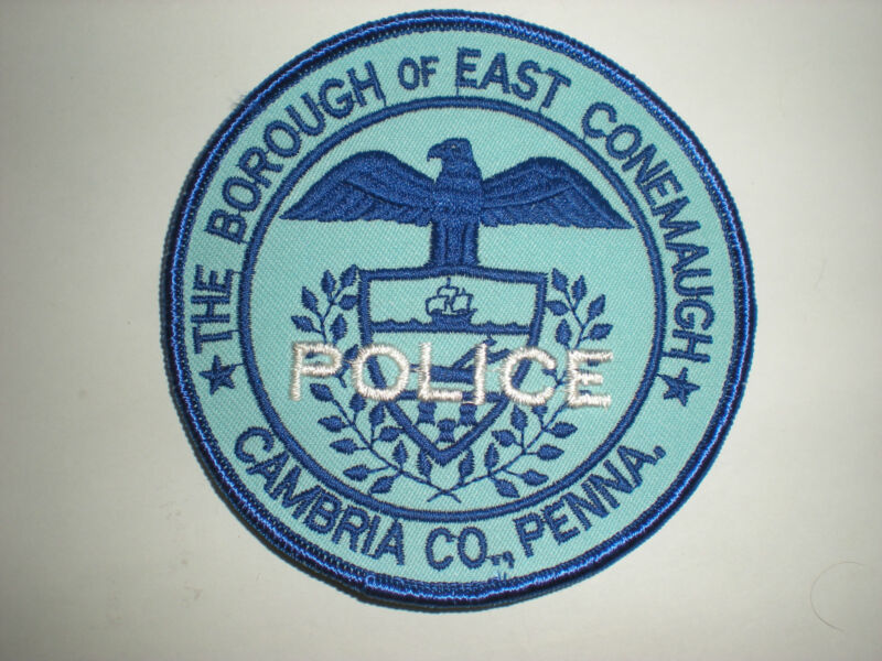 EAST CONEMAUGH, PENNSYLVANIA POLICE DEPARTMENT PATCH
