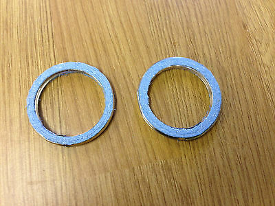 EXHAUST GASKET SET HONDA XL 600 TRANSALP Set of 2 Gaskets