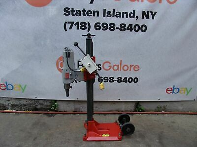 Milwaukee Core Drill Rig Core Bore Works Great 120 Volts