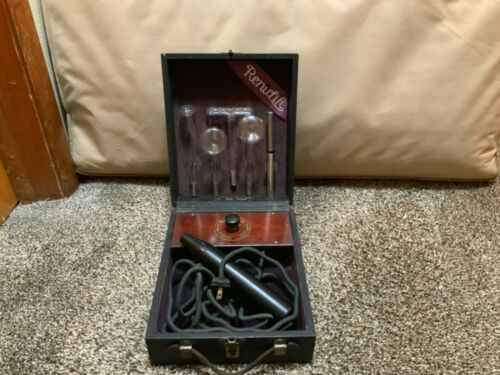 Vintage working Renulife violet ray quack medicine device Beasley Eastman