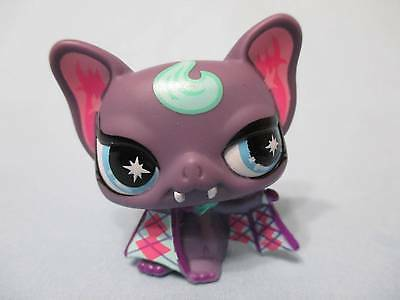 Littlest Pet Shop Bat Vampire No Number Authentic - Pet Bat