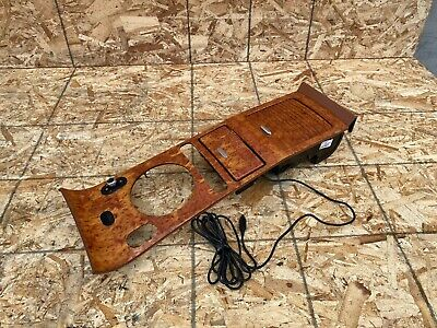 BENTLEY CONTINENTAL GT GTC (04-10) FRONT CENTER CONSOLE WOOD TRIM CUP HOLDER OEM