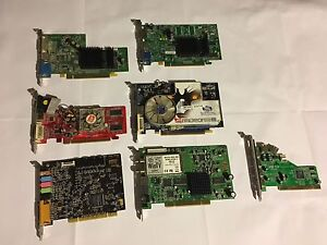 Video cards and misc lot