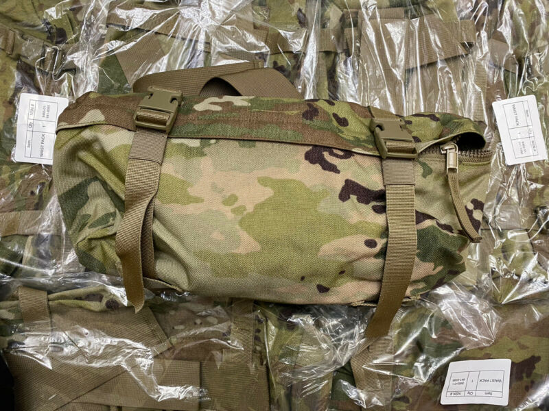 US.Military MOLLE II Waist Pack Multicam OCP New